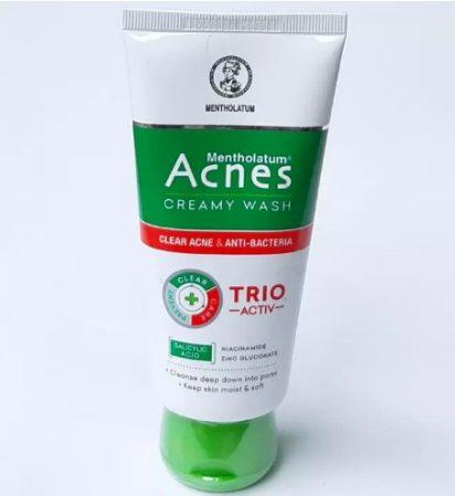 Sữa rửa mặt Acnes Creamy Wash