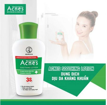 Sữa rửa mặt Acnes Soothing Lotion