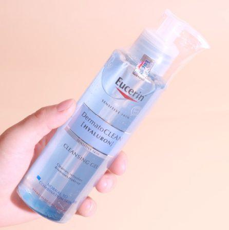 Sữa rửa mặt Eucerin Dermato CLEAN Hyaluron Cleansing Gel