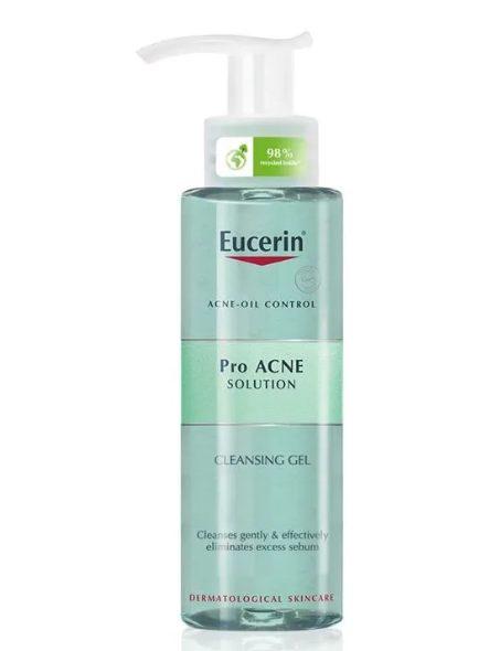Sữa rửa mặt Eucerin ProAcne Solution Cleansing GelSữa rửa mặt Eucerin ProAcne Solution Cleansing Gel