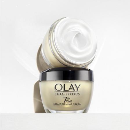 Kem Dưỡng Da Ban Đêm Chống Lão Hóa Olay Total Effects 7 In One Night Firming Cream