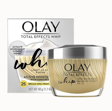 Kem chống lão hóa Olay Total Effects Whip Face Moisturizer SPF 25