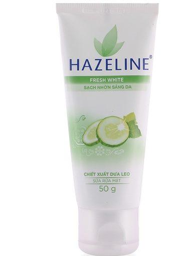 Sữa rửa mặt Hazeline Dưa leo