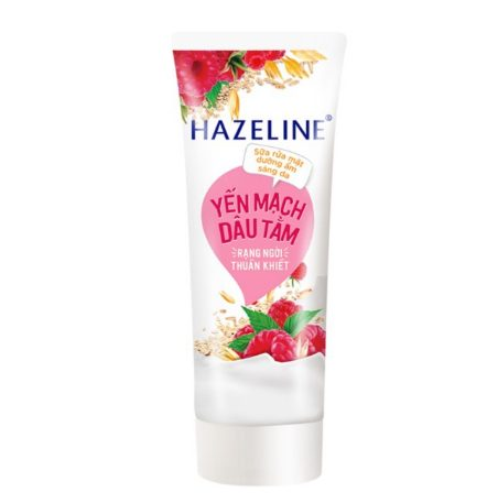 Sữa rửa mặt Hazeline Yến Mạch Dâu Tằm
