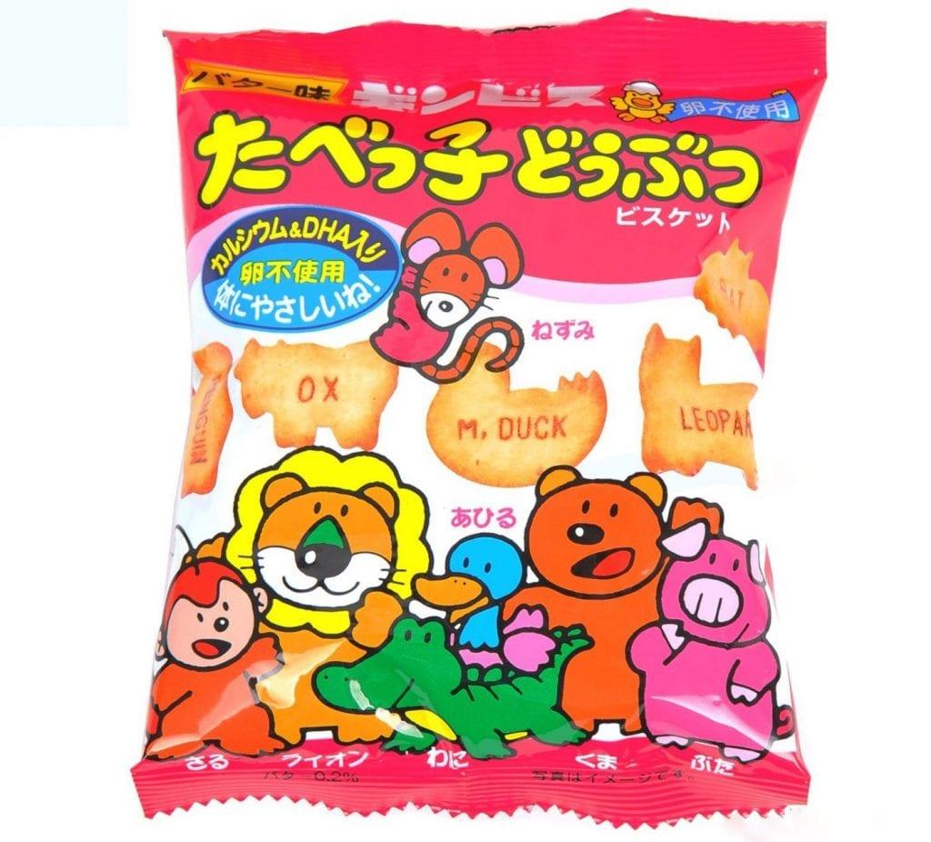 Bánh ăn dặm ginbis của Nhật