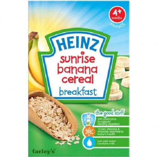 Bột ăn dặm Heinz Nga