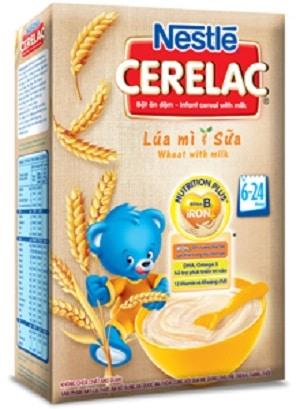 Bột ăn dặm Nestle cho bé 4 tháng tuổi