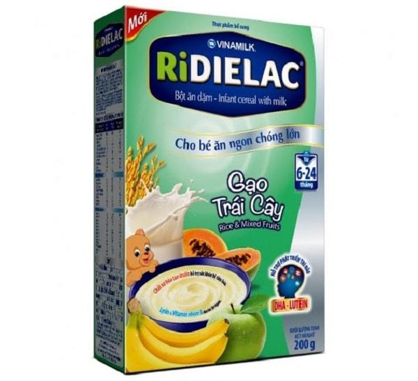 Ridielac vị gạo trái cây