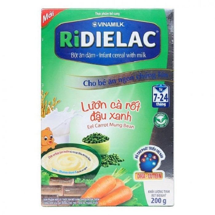 Ridielac Vị lươn, cà rốt, đậu xanh