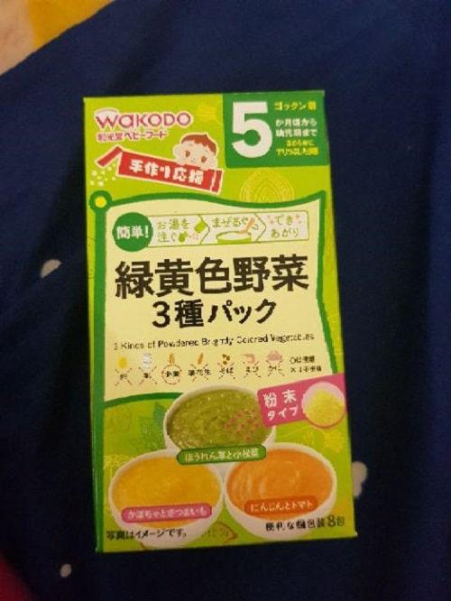 Bột ăn dặm wakodo nhiều vị cho bé thơm ngon và bổ dưỡng
