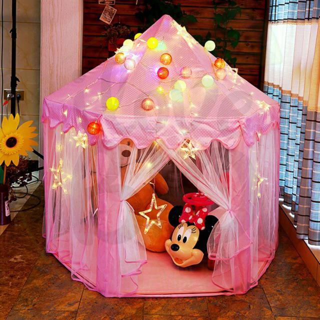 Lều công chúa cho bé gái 2 tuổi