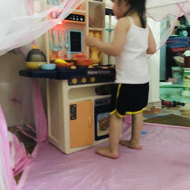 Bộ đồ chơi bếp nấu ăn hoàn chỉnh