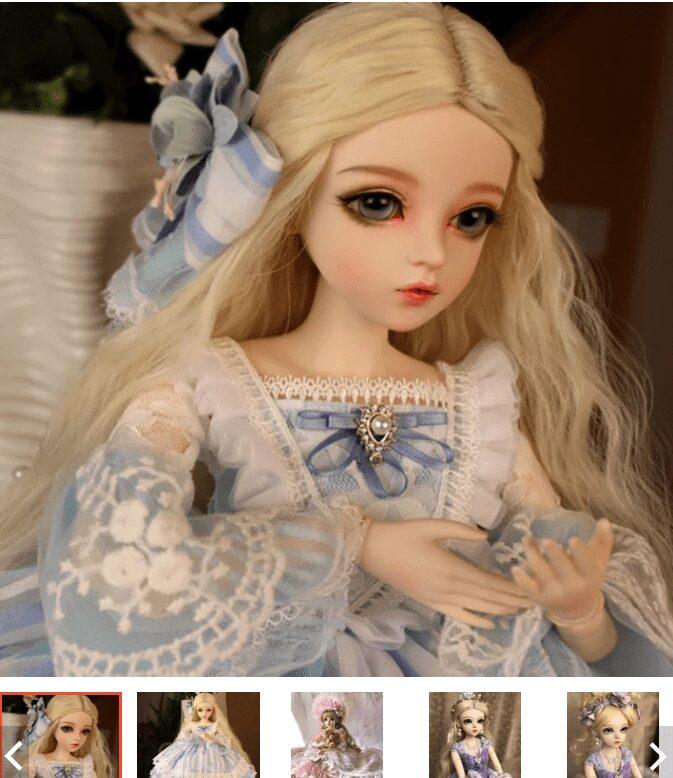 Búp bê công chúa đồ chơi cho bé gái