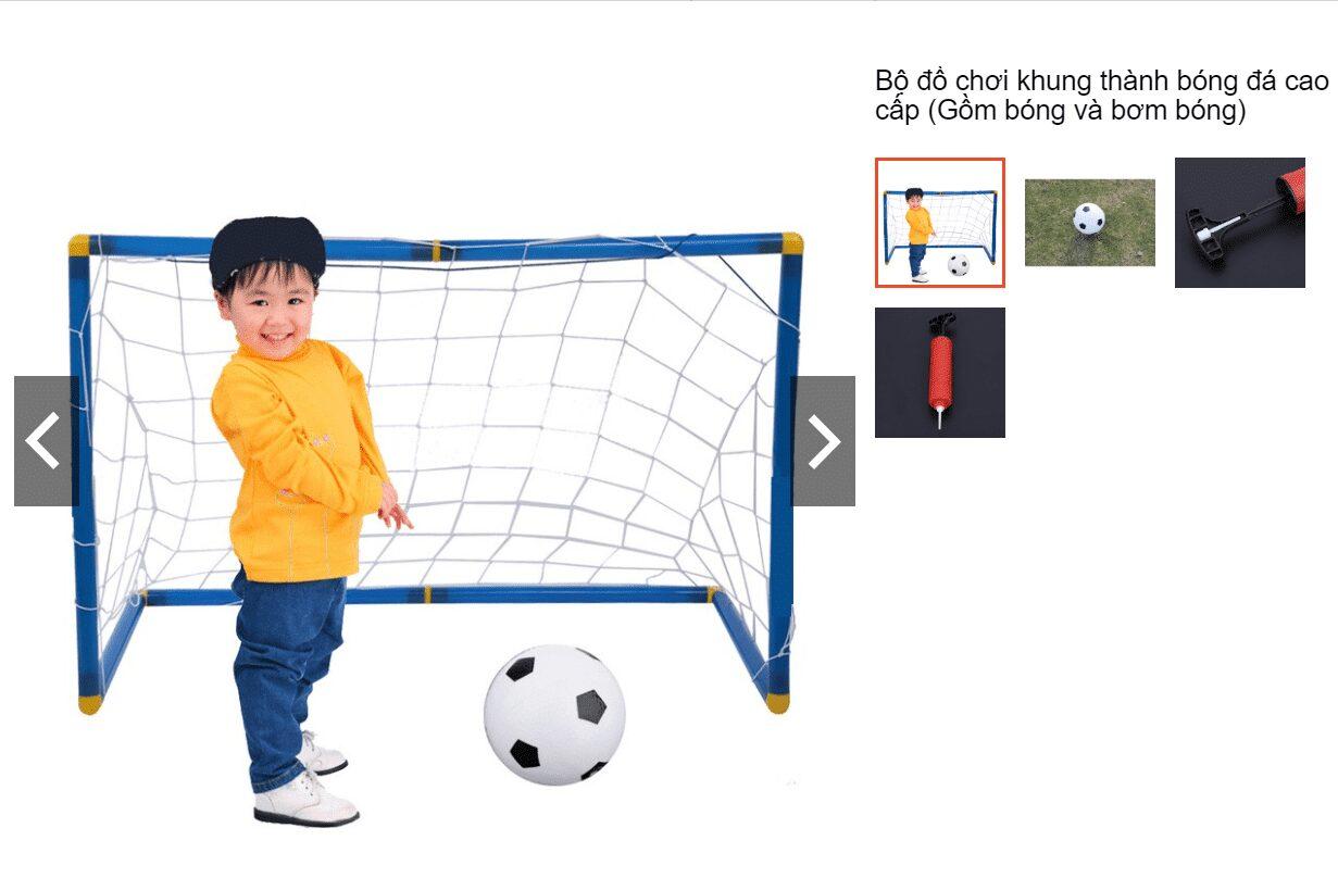 Bộ đồ chơi bóng đá cho con trai