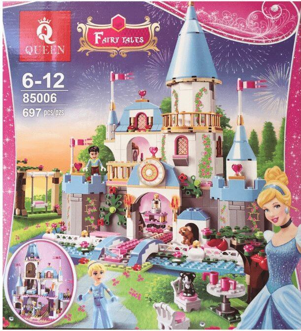Đồ chơi con gái xếp hình lego công chúa