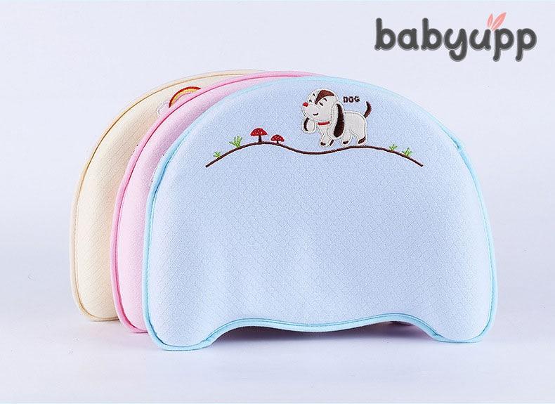 Gối cao su non cho trẻ sơ sinh babbyupp