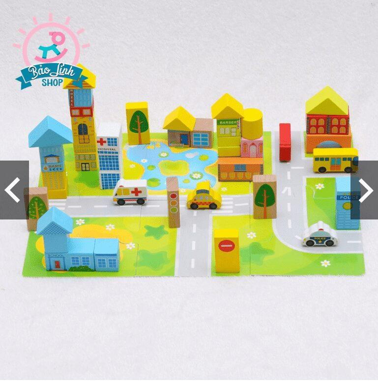 Mô hình lắp ghép đồ chơi thông minh cho bé 2 tuổi