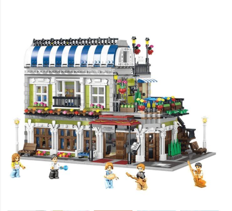Mô hình lắp ghép lego