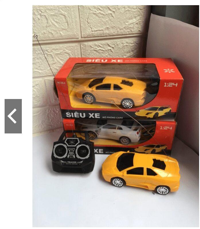 Ô tô điều khiển từ xa đồ chơi cho bé trai 7 tuổi