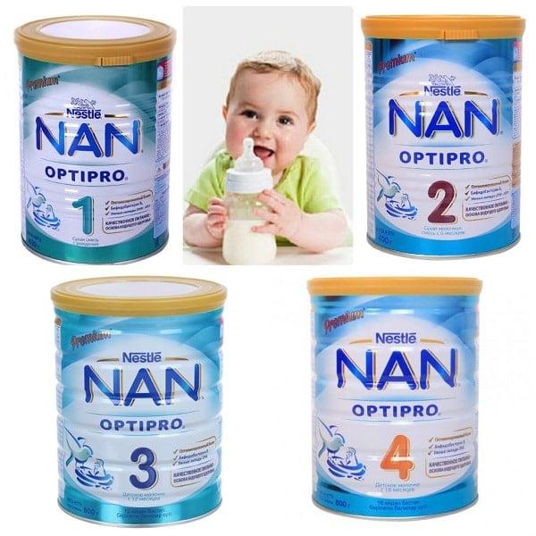 Sữa công thức nan nga
