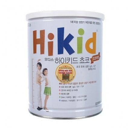 Sữa hikid Hàn Quốc vị socola