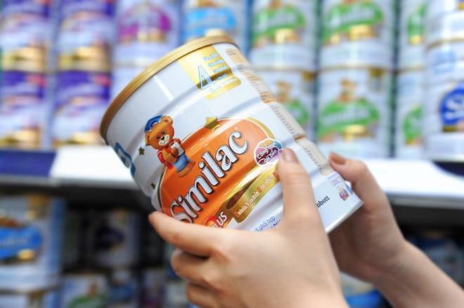 Sữa Similac có tăng cân không?