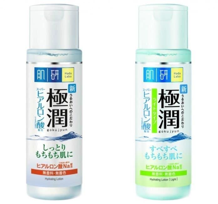 Nước hoa hồng Hada Labo Gokujyun Hyaluronic Acid Lotion cho làn da khô