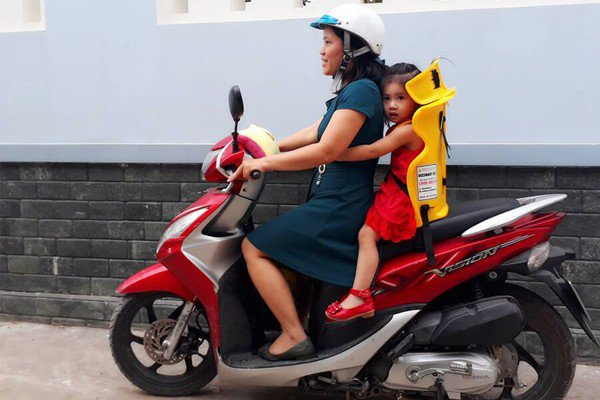 Ghế ngồi xe máy beesmart x2