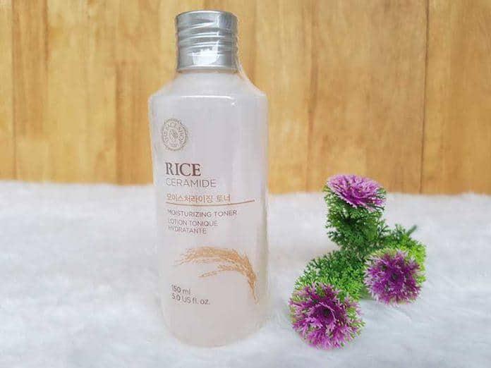 Nước hoa hồng The Face Shop dành cho làn da khô