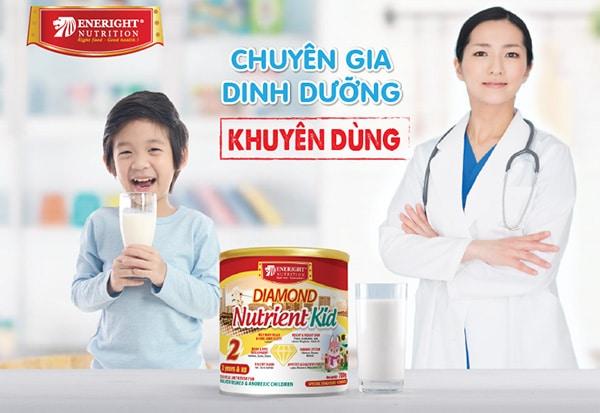 Nutrient Kid được các chuyên gia dinh dưỡng khuyên dùng