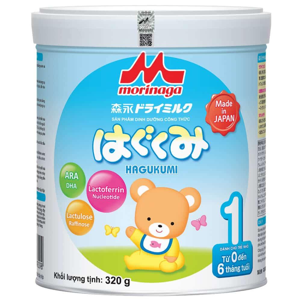 Sữa cho bé biếng ăn chậm lớn morinaga