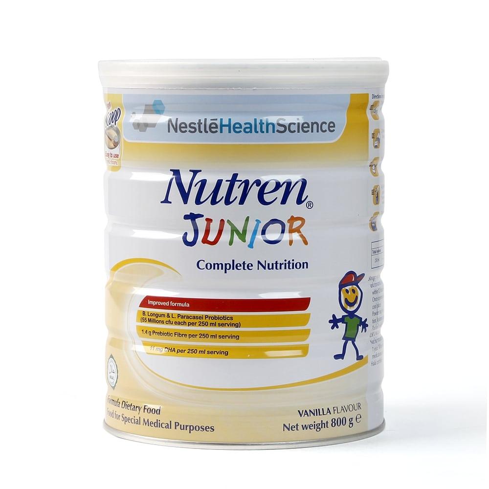 Sữa tăng cân cho bé nutren junior