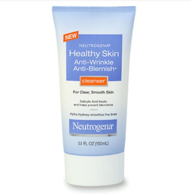 Neutrogena Healthy Skin Anti-Wrinkle Anti Blemish Cleanse