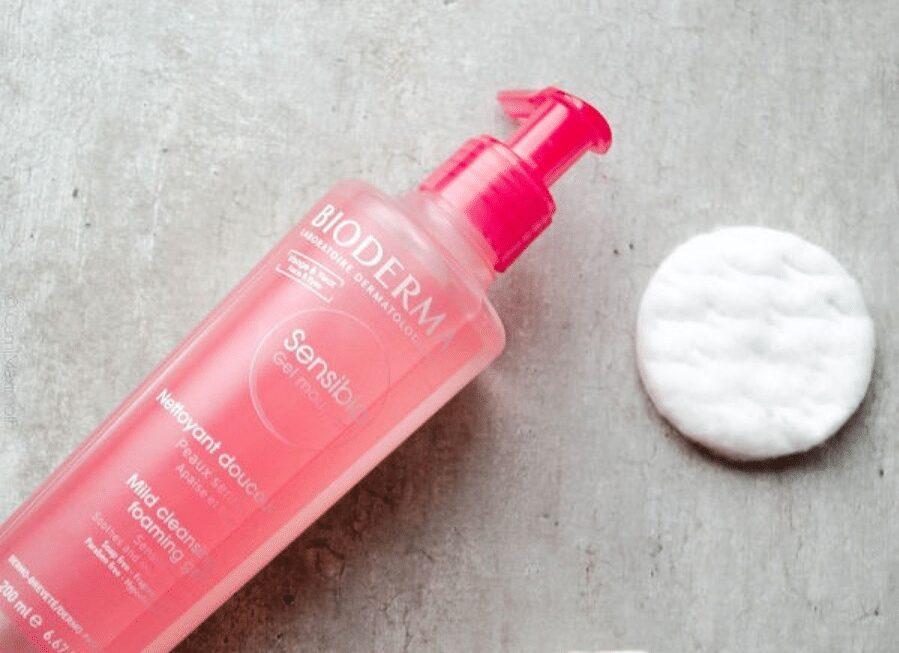 Sữa rửa mặt Bioderma Sensibio H20 Gel Moussant cho da nhạy cảm