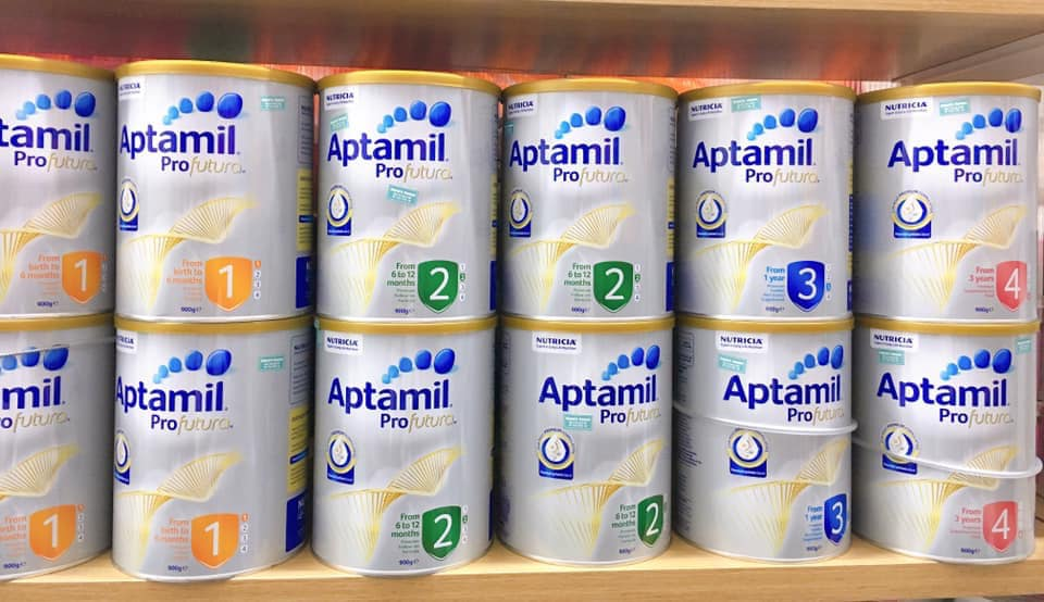 Sữa Aptamil của Úc
