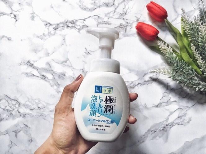 Hada Labo Gokujyun Hyaluronic Acid Bubble Face Wash