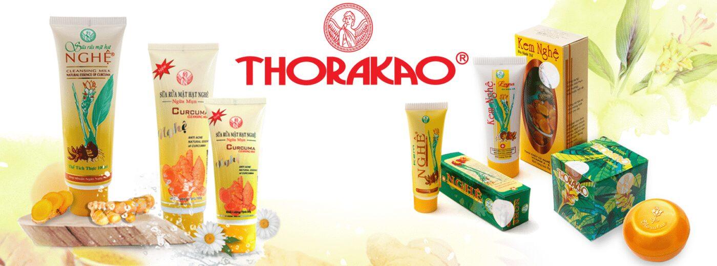 Sữa rửa mặt Thorakao nghệ trị mụn