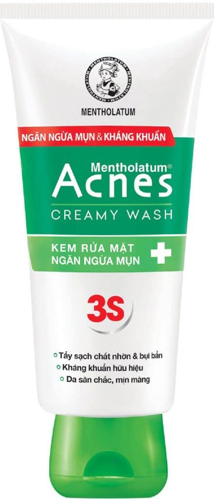 Sữa rửa mặt trị mụn Acnes 3S