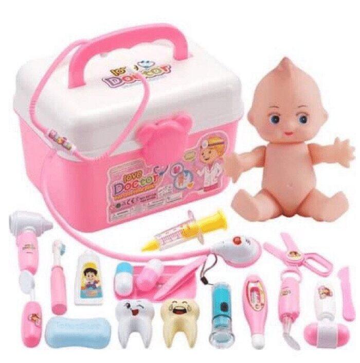 Bộ đồ chơi bác sĩ cho bé gái