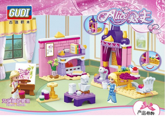 Bộ đồ chơi lego phòng ngủ cho công chúa