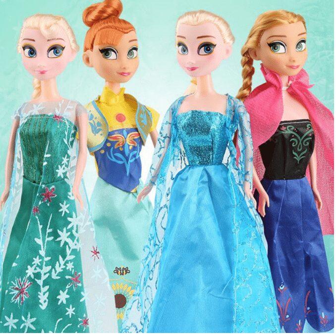 Búp bê công chúa trong phim frozen