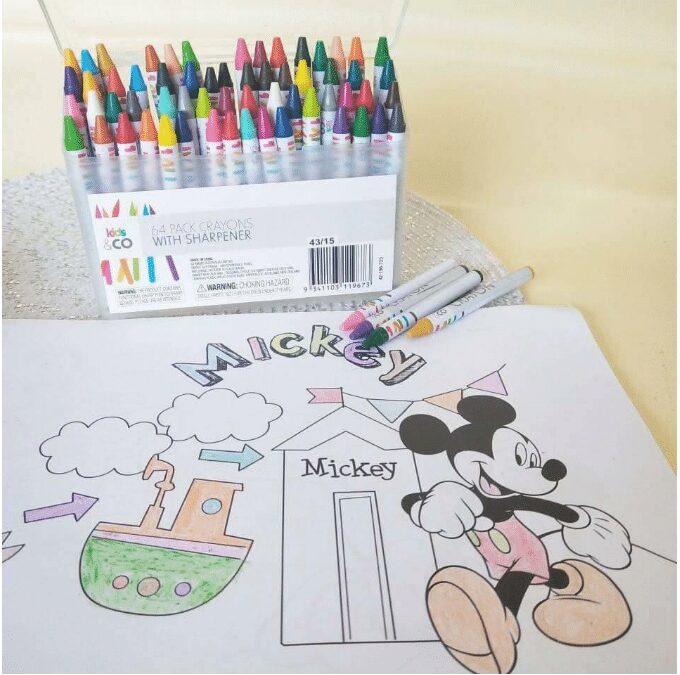 Bút sáp màu cho bé sáng tạo