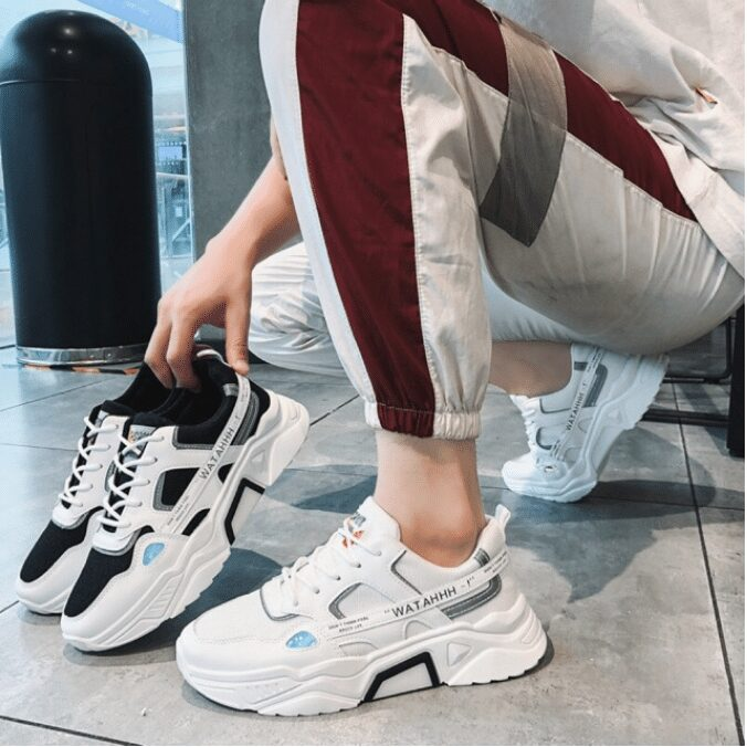 Giày thể thao quà tặng cho nam nhân ngày valentine