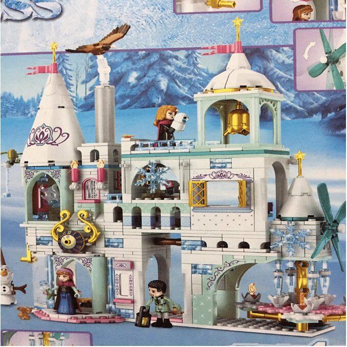 Lego xếp hình lâu đài công chúa