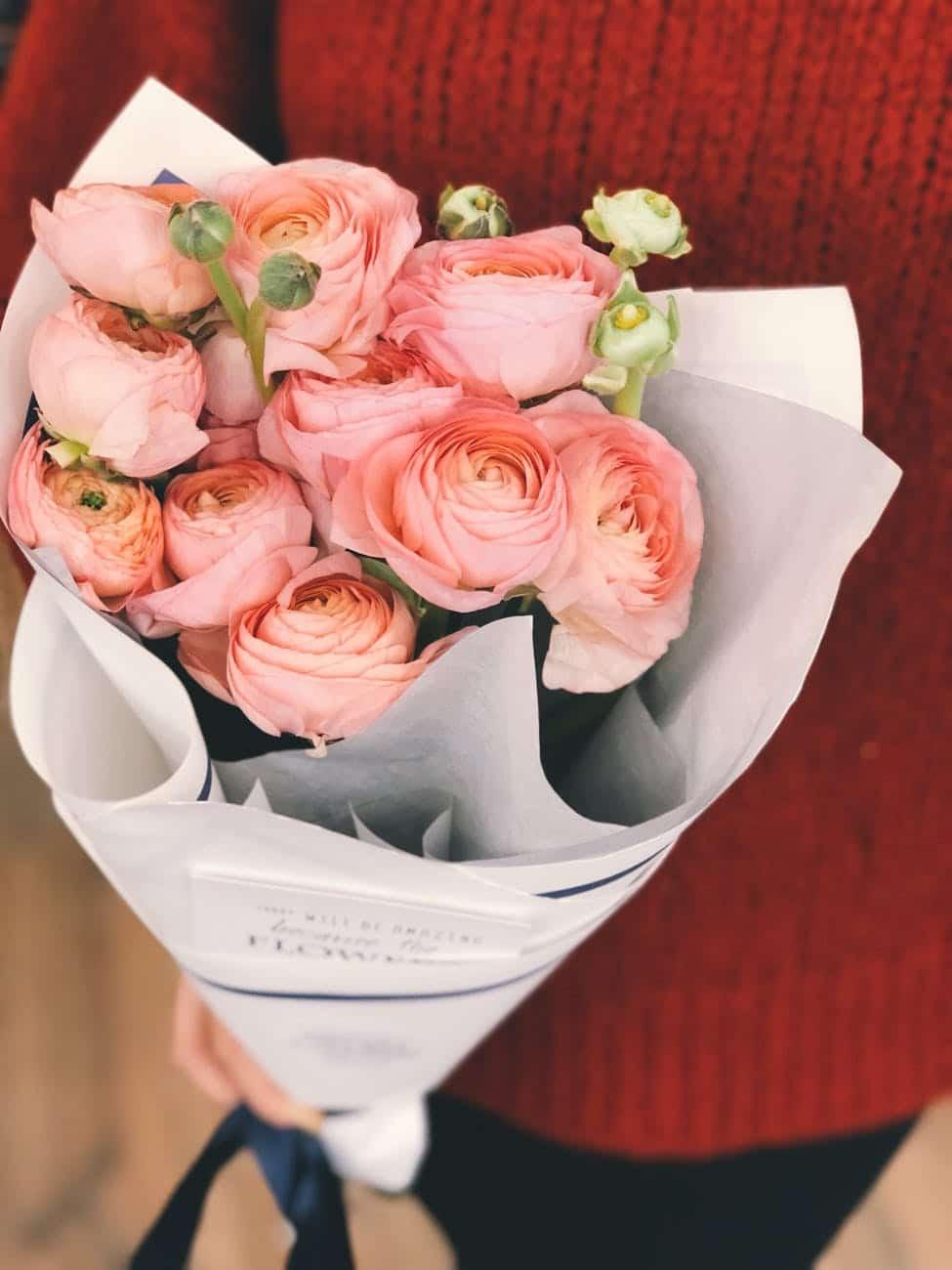 Quà tặng phụ nữ trung niên là hoa