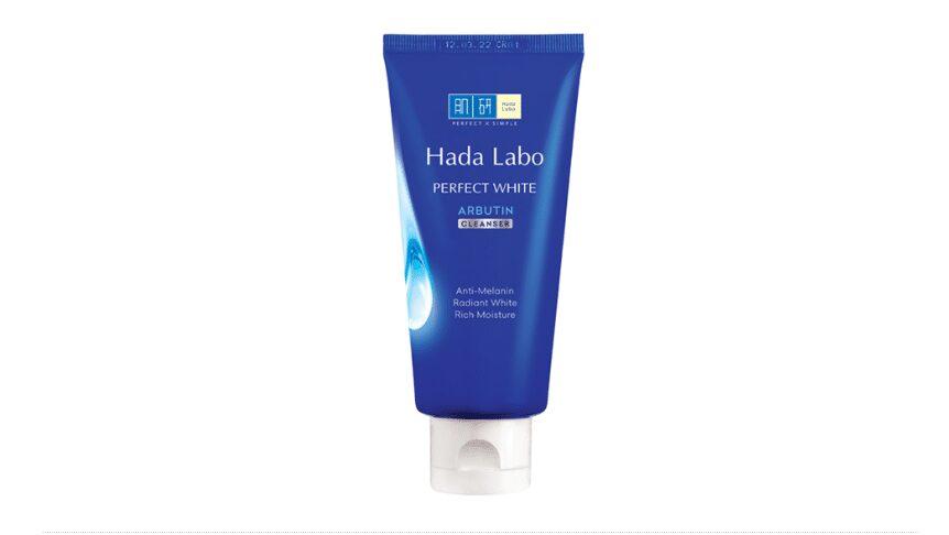 Sữa rửa mặt tốt cho da hỗn hợp Hada Labo Perfect White Cleanser
