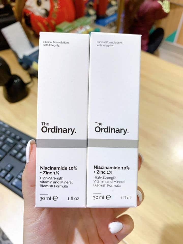 The Ordinary Niacinamide 10 + Zinc 1