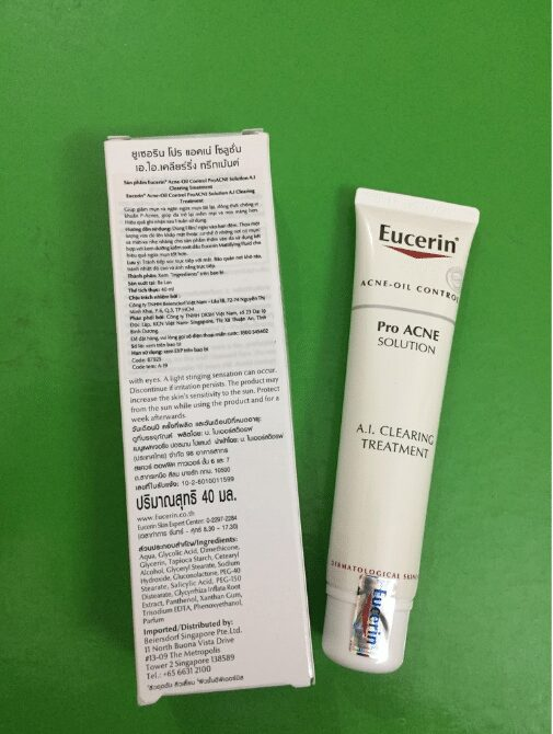 Serum trị mụn mờ sẹo Eucerin Pro Acne Solution