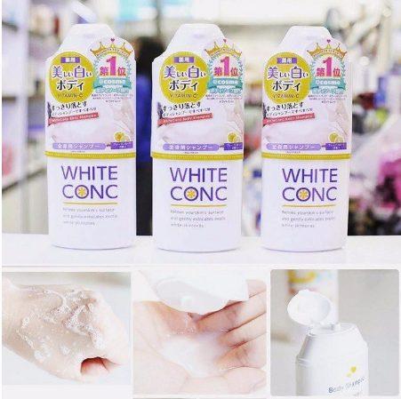 Sữa Tắm Dưỡng Da White ConC Nhật Bản