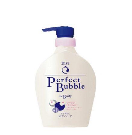 Sữa tắm trắng da toàn thân Senka Perfect Bubble for Body Sweet Floral
